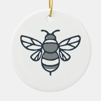 Bumblebee Bee Icon Christmas Ornament