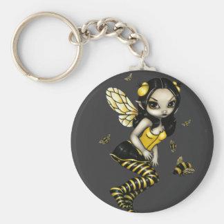 Bumblebee Fairy Keychain