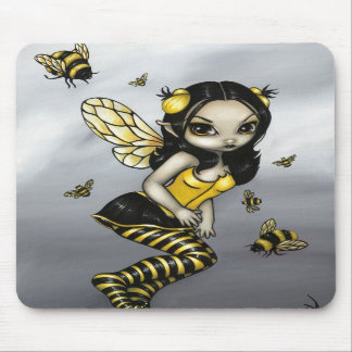 """Bumblebee Fairy"" Mousepad"
