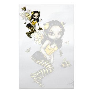 """Bumblebee Fairy"" Stationery"