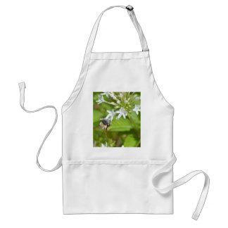Bumblebee & flowers adult apron