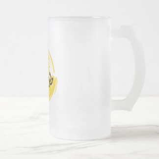 Bumblebee Frosted Glass Mug