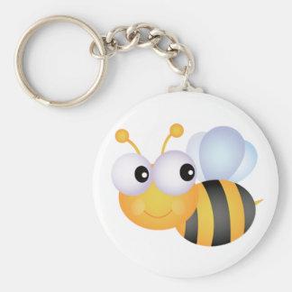 Bumblebee Keychain Basic Round Button Keychain