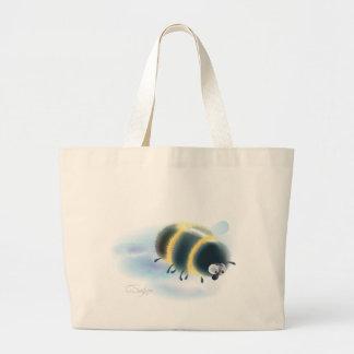 bumblebee large tote bag