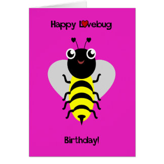 Bumblebee Love Bug Card