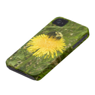 Bumblebee on a Dandelion iPhone 4 Case-Mate Case