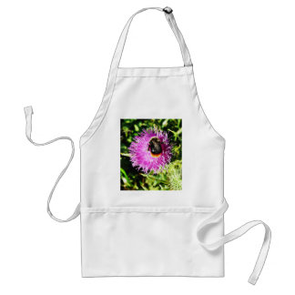 Bumblebee On Flower Aprons