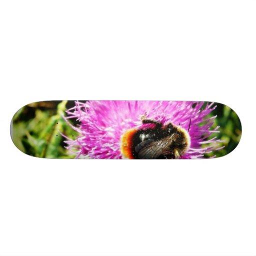 Bumblebee On Flower Skate Deck