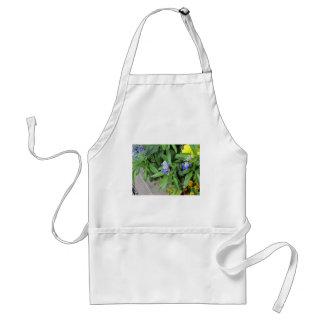 Bumblebee on flowers standard apron