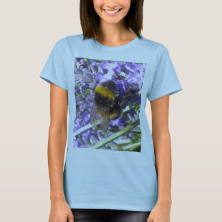 Bumblebee on Lavender T-shirt