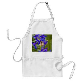 Bumblebee on Purple Flower Standard Apron