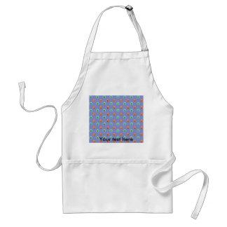 Bumblebee pattern on purple standard apron