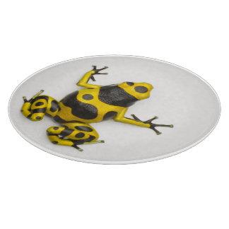Bumblebee Poison Dart Frog Cutting Board