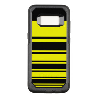Bumblebee Stripes OtterBox Commuter Samsung Galaxy S8 Case