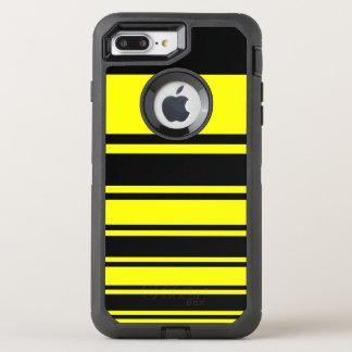 Bumblebee Stripes OtterBox Defender iPhone 8 Plus/7 Plus Case