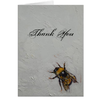 Bumblebee Thank You Note Card