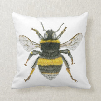 Bumblebee Throw Cushion
