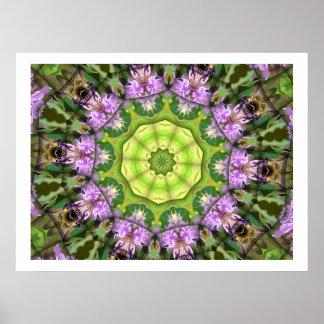 BumbleBeeBalm Kaleidoscope Posters