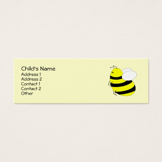 Bumbled Mini Business Card