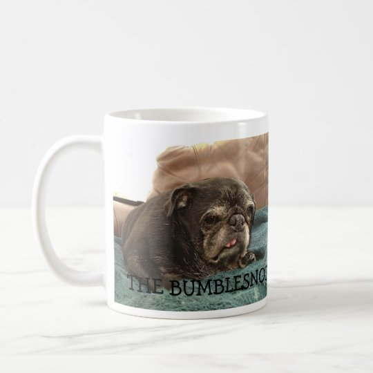 "Bumblesnot ""I Hate Mornings"" coffee mug"