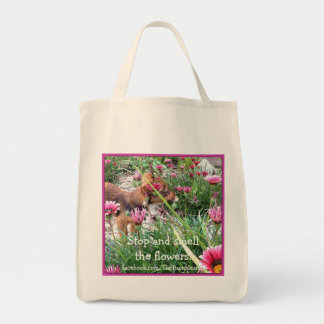 Bumblesnot totebag: The Wee One/Flowers