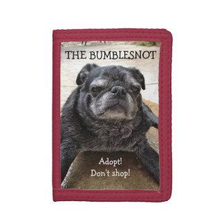 Bumblesnot wallet:  Adopt! Don't shop! Tri-fold Wallets