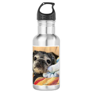 Bumblesnot water bottle: Rescue is the best breed! 532 Ml Water Bottle