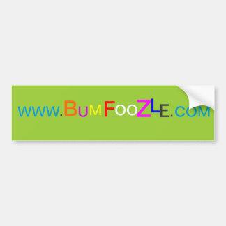 BUMFOOZLE Bumper Sticker