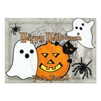 Bump in the Night Halloween 13 Cm X 18 Cm Invitation Card