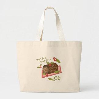 Bump On Log Jumbo Tote Bag