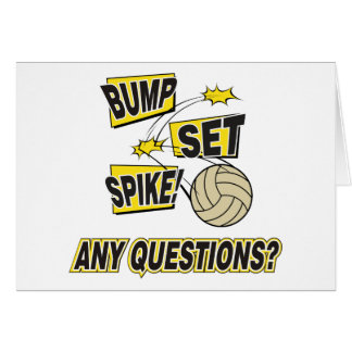 Bump Set Spike Volleyball Gift Card