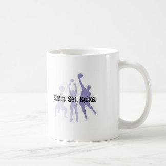 Bump, Set, Spike Volleyball Mug