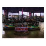 """""""Bumper Cars"""" Postcard"""
