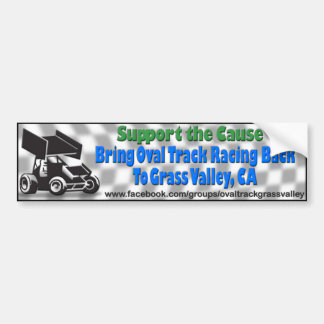 Bumper Sticker 1, Bring Oval Track Racing to GV