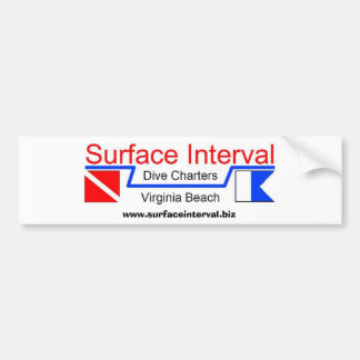 Bumper Sticker #1, Surface Interval Charters, INC