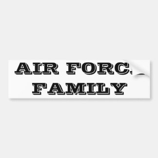 Bumper Sticker Air Force Family Car Bumper Sticker
