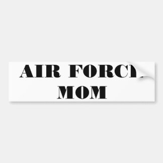 Bumper Sticker Air Force Mom
