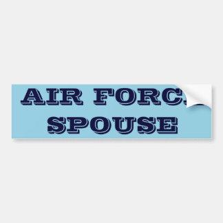 Bumper Sticker Air Force Spouse Car Bumper Sticker