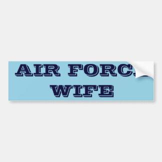 Bumper Sticker Air Force Wife Car Bumper Sticker