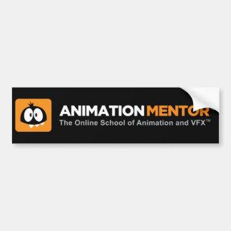 Bumper Sticker - Animation Mentor Car Bumper Sticker
