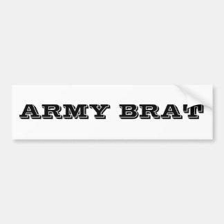 Bumper Sticker Army Brat