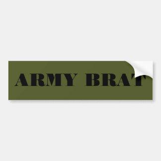Bumper Sticker Army Brat Car Bumper Sticker