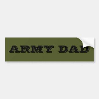 Bumper Sticker Army Dad