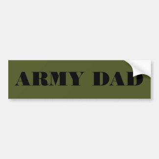 Bumper Sticker Army Dad Car Bumper Sticker