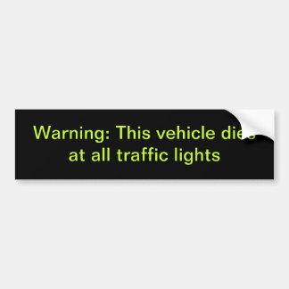Bumper Sticker auto