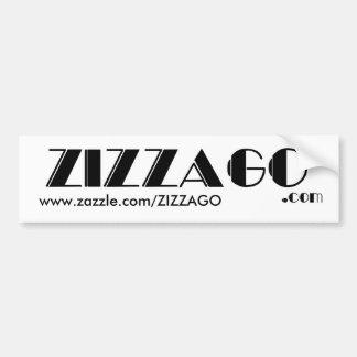 Bumper Sticker Business ZIZZAGO