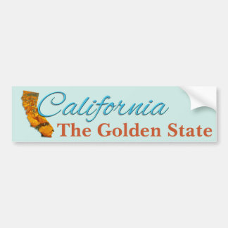 Bumper Sticker - CALIFORNIA