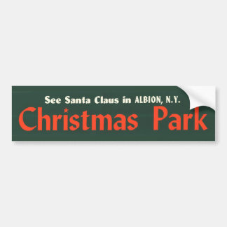 bumper-sticker---christmas-park bumper stickers