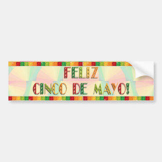 Bumper Sticker - Citrus Fans - Feliz Cinco De Mayo