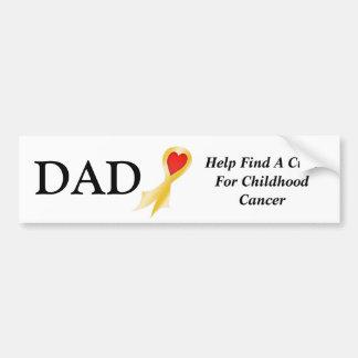 Bumper Sticker, Dad Bumper Sticker